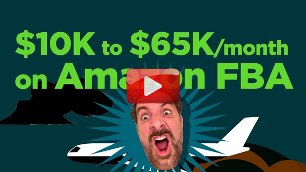 ,000 Investment to ,000 per Month Selling on Amazon FBA - Dean Christener - EP126