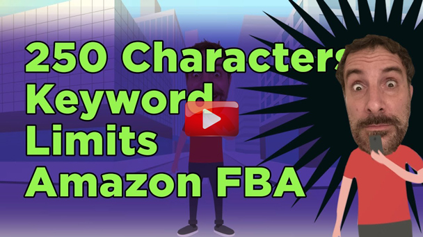 How Many Characters Can I Use In My Back End Search Terms When Selling on Amazon FBA? - EP128