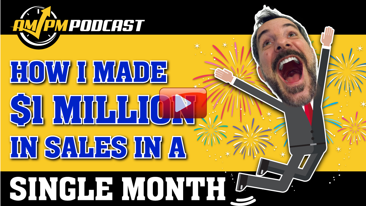 $1 million, december, million dollars in one month, 2017, 2018, manny coats, ampm podcast ep 161