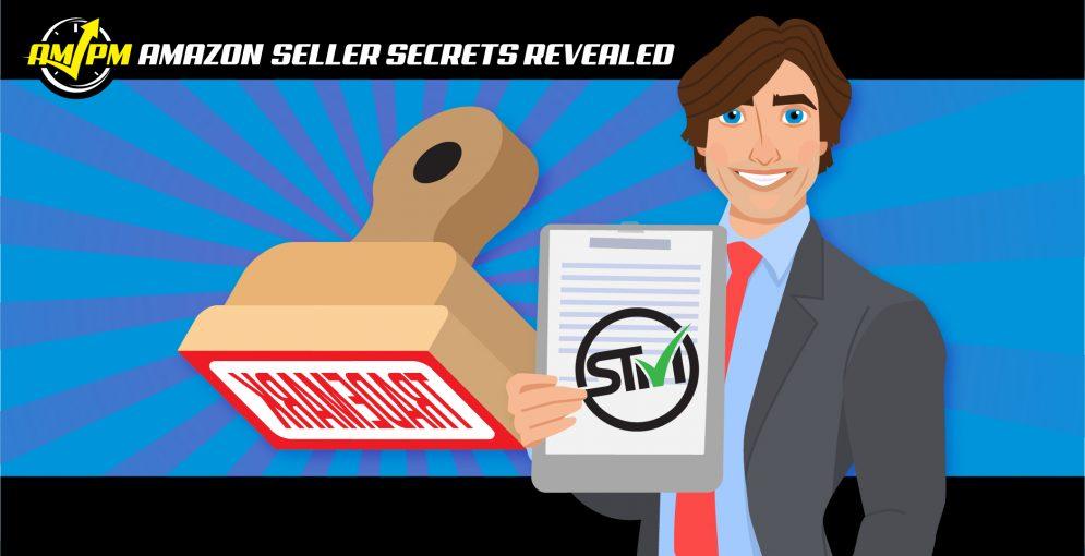 amazon trademark, amazon seller secrets revealed, ampm podcast, am pm podcast, manny coats