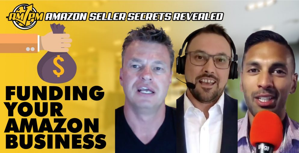 Amazon lenders, amazon seller loan, amazon capital services, amazon seller secrets revealed, ampm podcast, am pm podcast